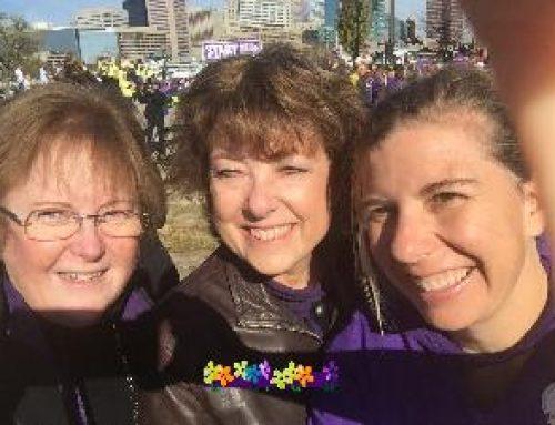 MSRN Team Exceeds Alzheimer's Walk Goal