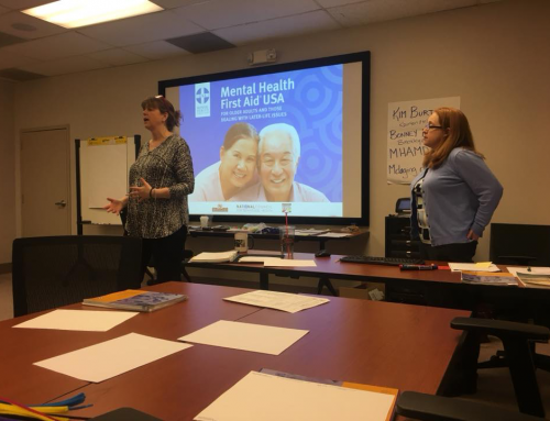 Mental Health Assoc of Maryland First Aid Seminar