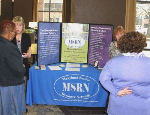 MSRN Participates in Alzheimer's Assoc Annual Baltimore Dementia Conference 4.13.18