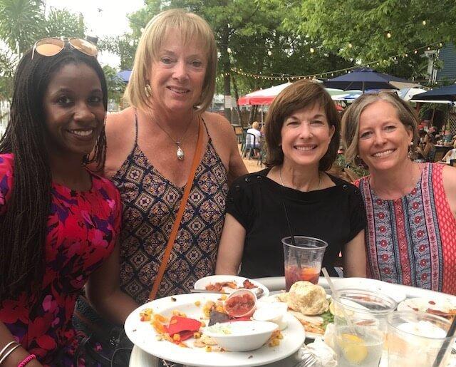 Sunset Cove 6/22/18: Yasminah Abdullah, Deb Bakalich, Pam Williams, Ellen Platt